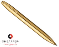 Sheaffer Legacy Heritage Brushed Gold G/T Ballpoint Pen