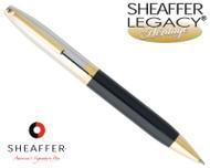 Sheaffer Legacy Heritage Palladium / Black Onyx Laque Ballpoint Pen