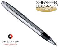 Sheaffer Legacy Heritage Deep Cut Palladium Plate Rollerball Pen
