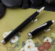 Cross Townsend Black Lacquer / Rhodium Plated Fountain Pen