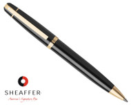 Sheaffer 500 Glossy Black G/T Ballpoint Pen