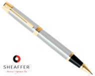 Sheaffer 300 Brushed Chrome G/T Rollerball Pen