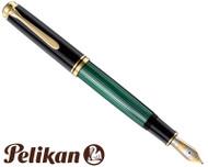Pelikan Souveran M1000 Black/Green Fountain Pen