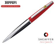 Sheaffer Ferrari Taranis Rosso Corsa Ballpoint Pen