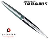Sheaffer Taranis Forest Green Featuring Chrome Plate Trim Ballpoint Pen