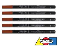 ACME Standard Rollerball Refills - Black 5 Pack