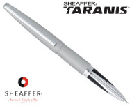 Sheaffer Taranis Sleek Chrome Featuring Chrome Plate Trim Fountain Pen