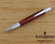 Waterford Pallas Ebony Rouge Wood Ballpoint Pen