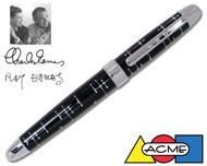 ACME Dots Black by Charles & Ray Eames Rollerball Pen