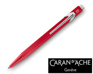 Caran d'Ache 849 Metal Red Ballpoint Pen