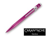 Caran d'Ache 849 Metal X Violet Ballpoint Pen