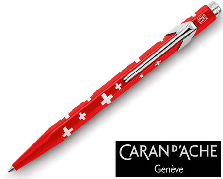 Caran d'Ache 849 Essentially Swiss Swiss Flag Ballpoint Pen