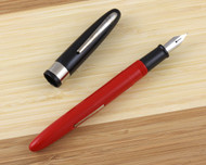 Wearever Supreme Fountain Pen Black Red Medium