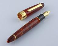 Classic Pens LB5 King Profit Kouseki Diamond Brown Limited Edition Fountain Pen