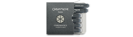Caran d'Ache Infinite Grey Ink Cartridges
