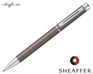 Sheaffer 200 Matte Metallic Grey / Chrome Trim Rollerball Pen