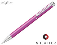 Sheaffer 200 Matte Metallic Pink / Chrome Trim Rollerball Pen