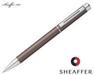 Sheaffer 200 Matte Metallic Grey / Chrome Trim Ballpoint Pen