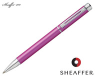 Sheaffer 200 Matte Metallic Pink / Chrome Trim Ballpoint Pen