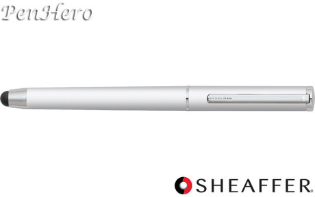 Sheaffer Stylus Matte White Featuring Chrome Plate Trim