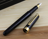 Sheaffer Prelude Signature Black Laque G/T Fountain Pen Fine