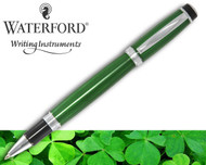 Waterford Kilbarry Guilloche Emerald Isle Rollerball Pen