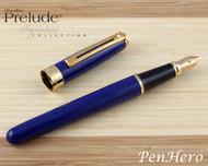 Sheaffer Prelude Signature Blue Laque G/T Fountain Pen Medium