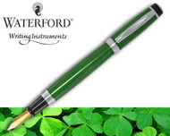 Waterford Kilbarry Guilloche Emerald Isle Fountain Pen Medium
