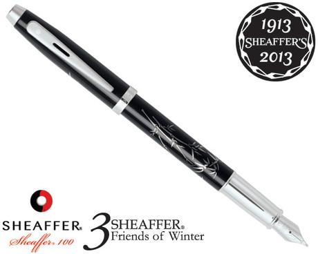 Sheaffer 100 3 Friends of Winter, Bamboo Design Fountain Pen