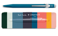 Caran d'Ache 849 PAUL SMITH Peacock Blue Limited Edition Ballpoint Pen