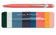 Caran d'Ache 849 PAUL SMITH Coral Pink Limited Edition Ballpoint Pen