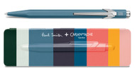 Caran d'Ache 849 PAUL SMITH Petrol Blue Limited Edition Ballpoint Pen