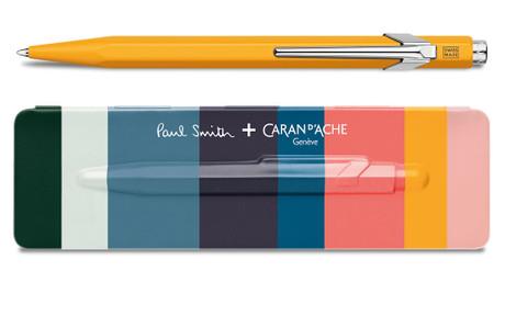 Caran d'Ache 849 PAUL SMITH Orange Limited Edition Ballpoint Pen