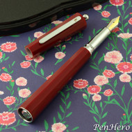 Giuliano Mazzuoli Moka Red 3 in 1 Fountain Pen