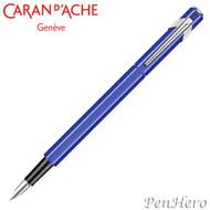 Caran d'Ache 849 Sapphire Blue Fountain Pen