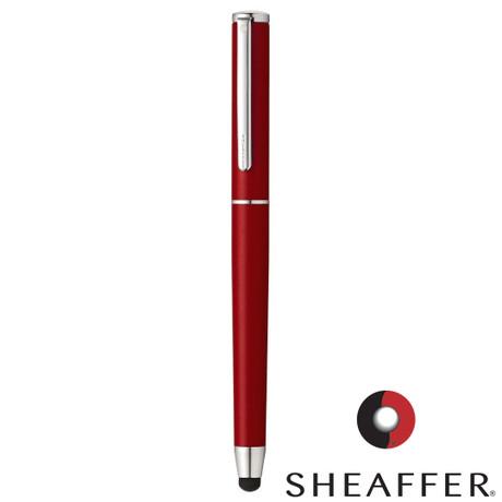 Sheaffer Stylus Matte Red Featuring Chrome Plate Trim