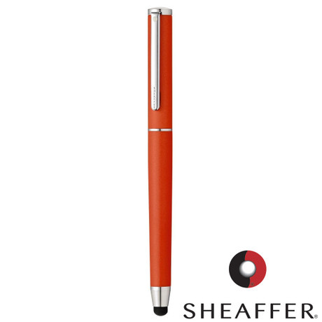 Sheaffer Stylus Matte Orange Featuring Chrome Plate Trim