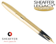 Sheaffer Legacy Heritage Brushed Gold G/T Fountain Pen