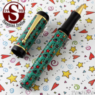 Santini Italia Hawaii Green Rollerball Pen
