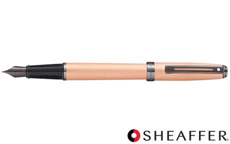 Sheaffer Prelude Brushed Copper Tone PVD Gunmetal Trim Fountain Pen