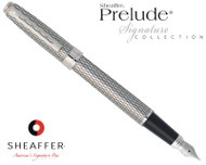 Sheaffer Prelude Signature Imperial Pattern Fountain Pen