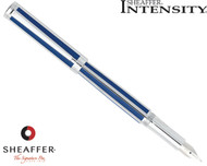Sheaffer Intensity Ultramarine Striped Fountain Pen