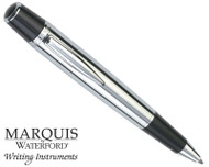 Waterford Marquis Arista Polished With Black Accents Ballpoint Pen