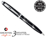 Sheaffer 100 3 Friends of Winter, Pine Design Ballpoint Pen