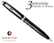 Sheaffer 100 3 Friends of Winter, Bamboo Design Ballpoint Pen