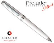 Sheaffer Prelude Mini Gloss White N/T Ballpoint Pen
