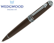 Wedgwood Chocolate Greek Key Motif Ballpoint Pen