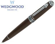 Wedgwood Chocolate Greek Key Motif Ballpoint Pen