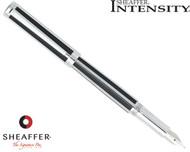 Sheaffer Intensity Jet Black Striped Fountain Pen