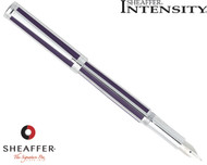 Sheaffer Intensity Deep Violet Striped Fountain Pen